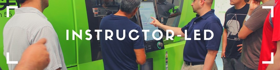 Instructor-Led Injection Molding Training